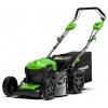 Аккумуляторная газонокосилка Greenworks GD40LM46SPK4